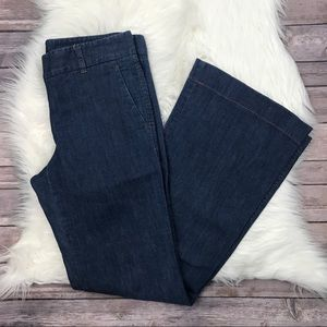 Theory Denim Flare Trousers Jeans 4 M1839
